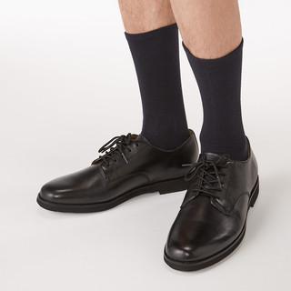MUJI 无印良品 49SA014 男式 合脚直角 均码袜