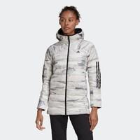 双11预售 : adidas/阿迪达斯 FR6637 女子中长款羽绒服
