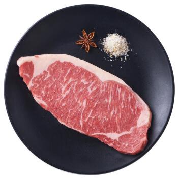 春禾秋牧 谷饲AAA级安格斯牛肉  加拿大西冷牛排 200g/袋