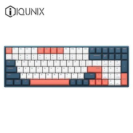 IQUNIX F96 珊瑚海 机械键盘(Cherry轴、PBT)