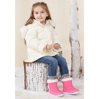 gb 好孩子 儿童加厚棉靴 *2件