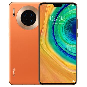 HUAWEI 华为 Mate 30 5G版 智能手机 (8GB、128GB、5G、丹霞橙)