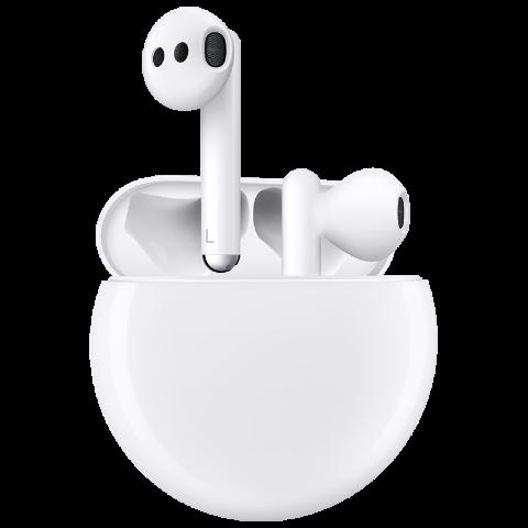 HUAWEI 华为 Freebuds 3 蓝牙耳机 有线充版 陶瓷白