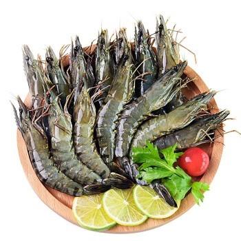 GUOLIAN 国联 越南黑虎虾40/50(BAP认证) 中号 400g 16-20只 *6件