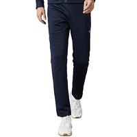 男式反光贴合绒卫裤