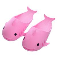 可比豆   小鲸鱼儿童浴室防滑凉拖鞋