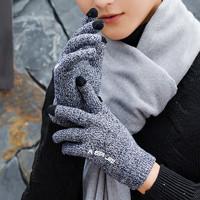 木沁 加绒加厚触屏手套