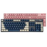 富勒G902 光磁轴机械键盘 蓝白