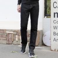 J.ZAO 京东京造 97352019051527 男士火山岩保暖直筒牛仔裤
