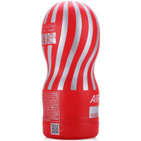 TENGA 日本进口 男用反复使用飞机杯 情趣用品 AIR-TECH 红色标准型