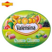 德国进口瑞果酸酸软糖350g(铁听装)彩色水果软糖喜糖婚庆糖果