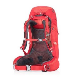 Gregory格里高利19新款JADE33L女款大容量重装徒步登山包双肩旅行背包 罂粟红33升 XS/S