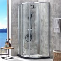 JOMOO 九牧 M3E11 一体式扇形淋浴房(弧扇形)