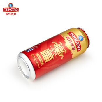 TSINGTAO 青岛啤酒 福如东海 10度 500ml*12听