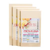 京东PLUS会员:Asahi 朝日 橡胶砧板 LL号 42cm*25cm*1.3cm *3件