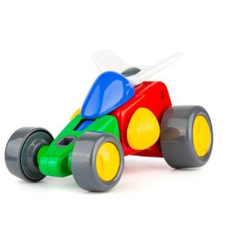 LIVING STONES 活石 儿童拼装电动玩具 拼拼乐 18个零件