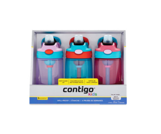 Contigo 儿童吸管杯套装 414ml 三只装