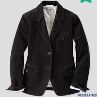 UNIQLO 优衣库 设计师合作款 422589 灯芯绒西服