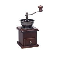 HARIO 家用复古方形陶瓷磨芯木质手摇咖啡磨豆机 *4件