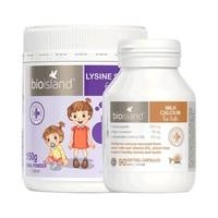 BIO ISLAND 儿童助长素1段+液体乳钙