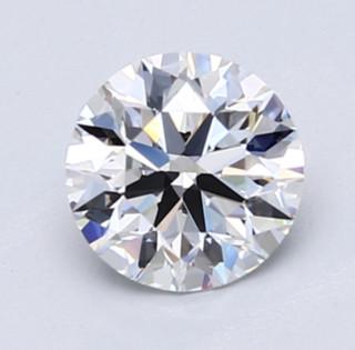 Blue Nile 1.00克拉 圆形切割钻石(切工EX,成色E,净度VVS2)