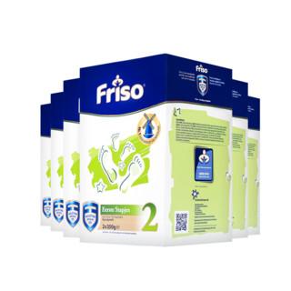 88VIP、双11预售 : Friso 美素佳儿 婴儿配方奶粉 2段 700g*6盒