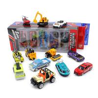 5个装仿真合金车模型 儿童玩具 城市越野