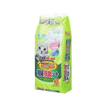Gaines 佳乐滋 沸石猫砂4L+尿垫10片套装
