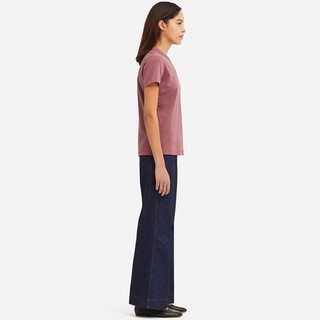 UNIQLO 优衣库 设计师合作款 414443 女款圆领T恤 粉色 M