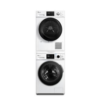 17日0点:LittleSwan 小天鹅 TG100VT86WMAD5+TH100VTH35 烘干机热泵洗烘套装 (白色、10kg)