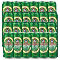 青島啤酒 經典10度 500ml*24罐