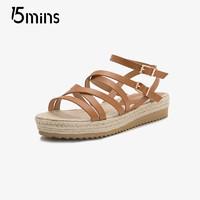 15MINS 15分钟 UPJ18BL8 女款凉鞋