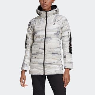 adidas 阿迪达斯 FR6637 女子中长款羽绒服