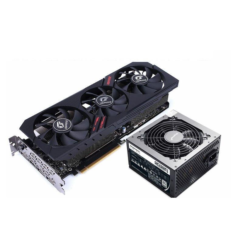 COLORFUL 七彩虹 iGame GeForce RTX2060 SUPER Ultra 8G 显卡 + 鑫谷 额定 600W GP700P 白金版电源