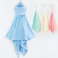 双11预售 : Curbblan 卡伴 儿童浴巾斗篷 70*140cm +3条方巾