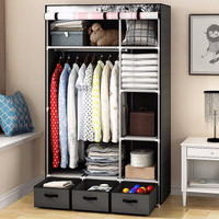 HomeBi 家世比 HBY1690D 简易布衣柜 *3件