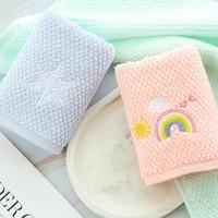 潔麗雅 兒童純棉毛巾 50*25cm 45g*4條