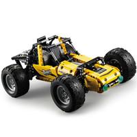 双鹰 咔搭积木遥控拼装男孩玩具