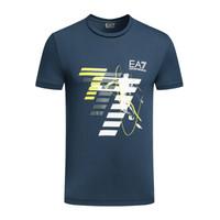 EA7 EMPORIO ARMANI阿玛尼奢侈品男士短袖针织T恤衫