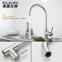 Elkay 艾肯 QSR7743D Y厨房304不锈钢水槽