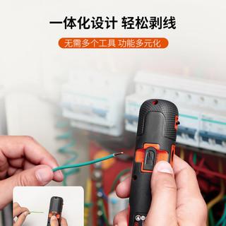 百得 电动螺丝刀充电式 BD40K4