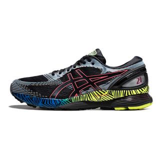 ASICS 亚瑟士 Gel-nimbus 21 Ls 男子跑鞋 1011A632-001 黑色/银色/蓝色 39