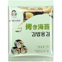 小伙子 韩国紫菜包饭寿司海苔24g(10张)