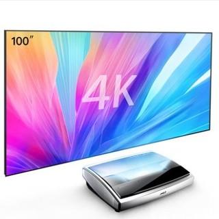 历史低价、双11预售 : JmGO 坚果 U1 4K激光电视