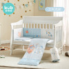 可优比(KUB)婴儿床防撞床围宝宝床上用品棉质床品七件套艾利克斯120*60