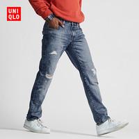 UNIQLO 优衣库 420805 男士破洞牛仔裤