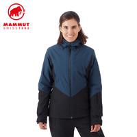 MAMMUT/猛犸象 女士秋冬新品防风防水透气保暖滑雪硬壳棉服