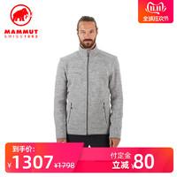 【预售】MAMMUT/猛犸象 男士秋冬弹力高保暖柔软舒适速干抓绒夹克