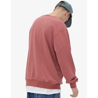 viishow/威秀 男士衬衫WD2261193 枣红色 L