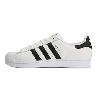 adidas 三叶草 中性贝壳头休闲鞋 C77124